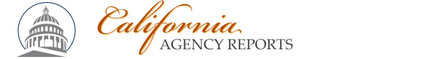 The site logo that reads California Agency Reports
